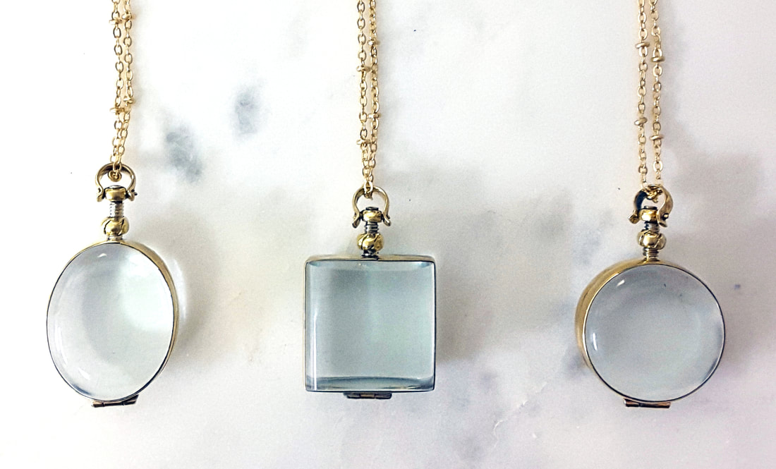 Preserve your wedding flowers in a glass locket. This necklace holds your pressed wedding flowers!