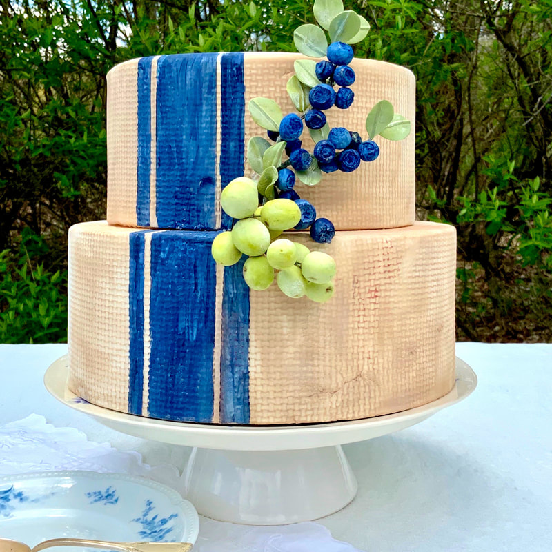 Provence on a Cake by Mamie Brougitte Cakes